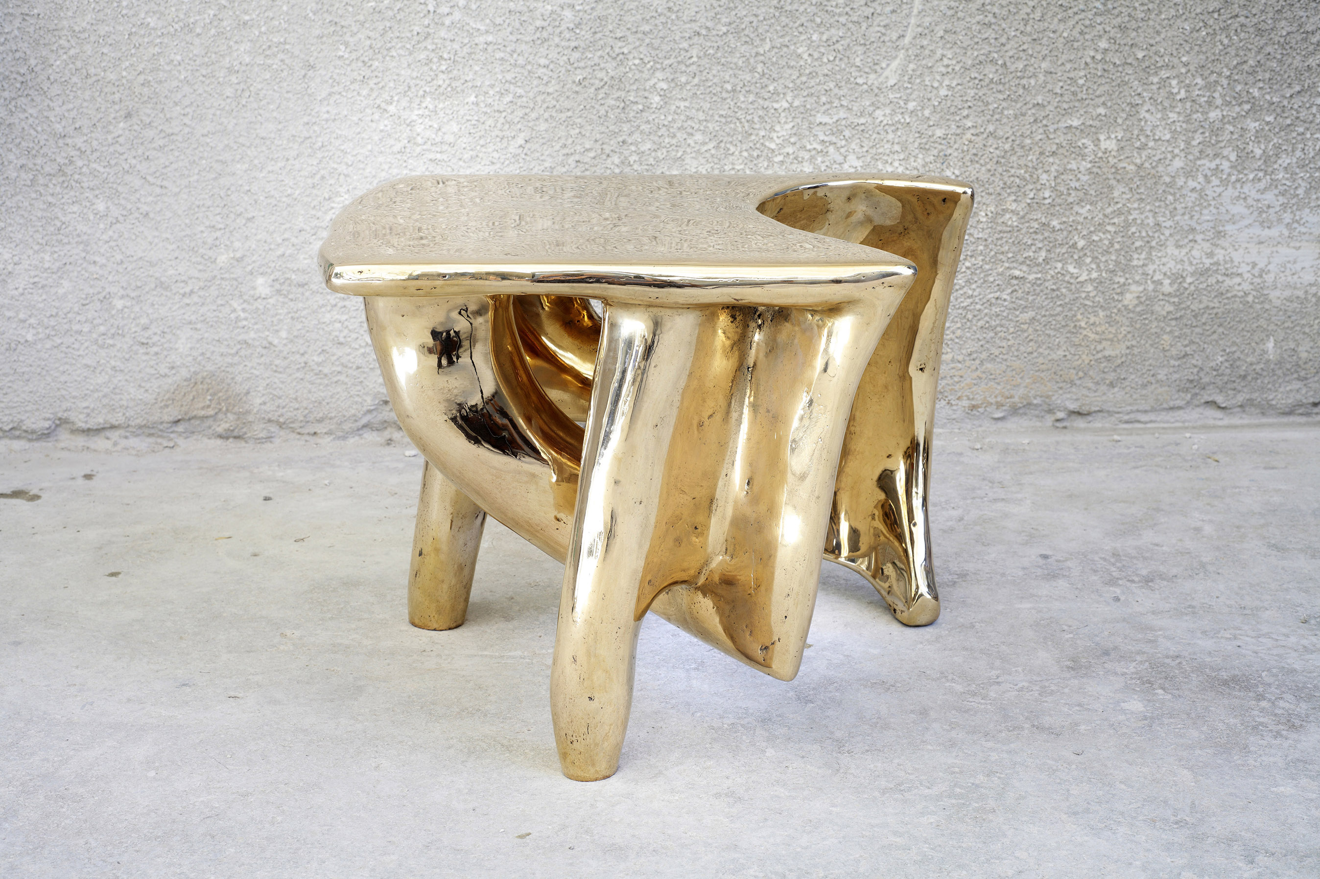 Tripod Side Table (Bronze)