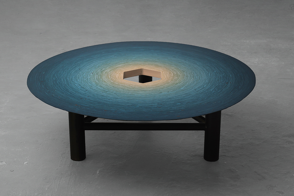Fuzz Coffee Table (Blue)