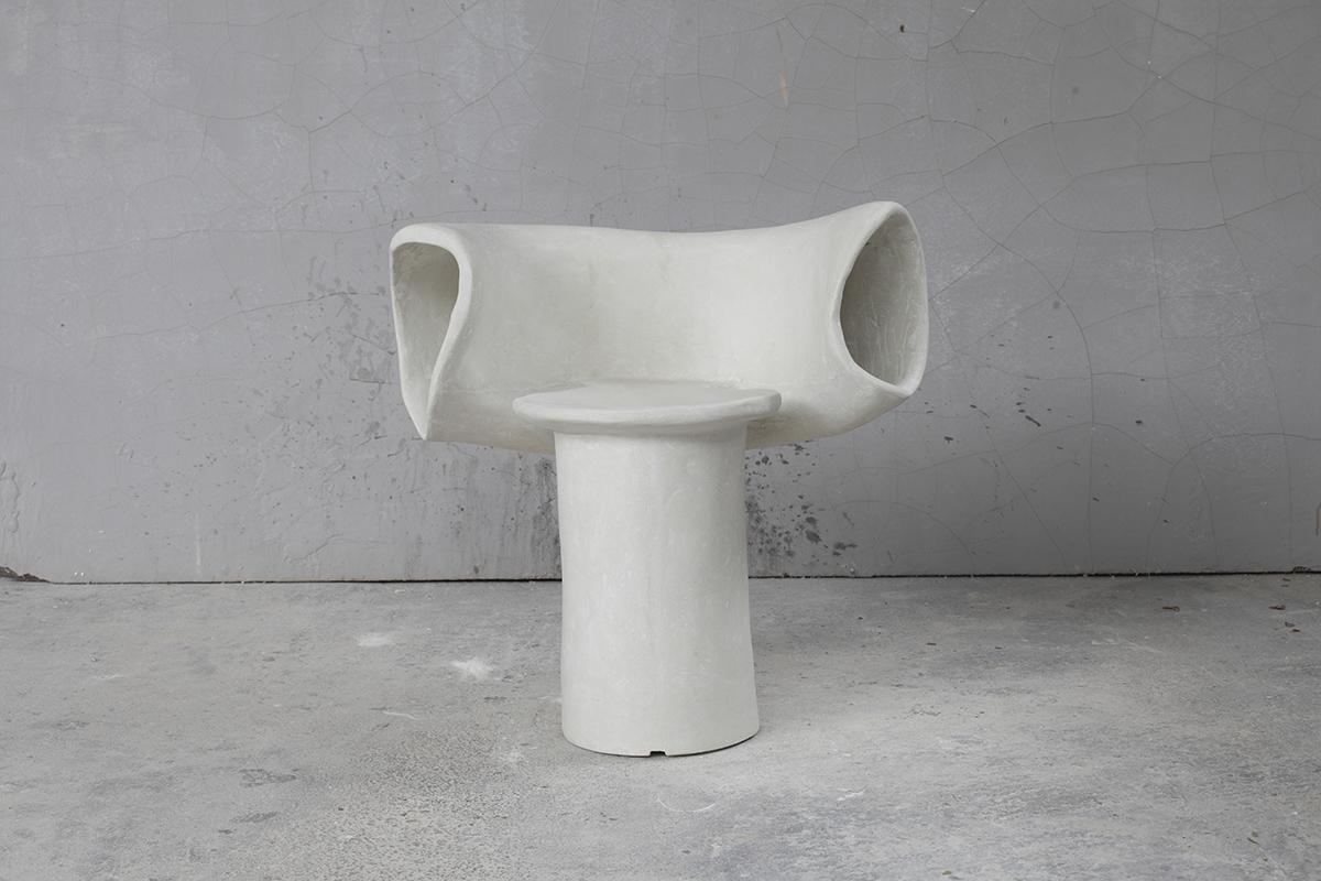 Ear Chair (Cast Stone)