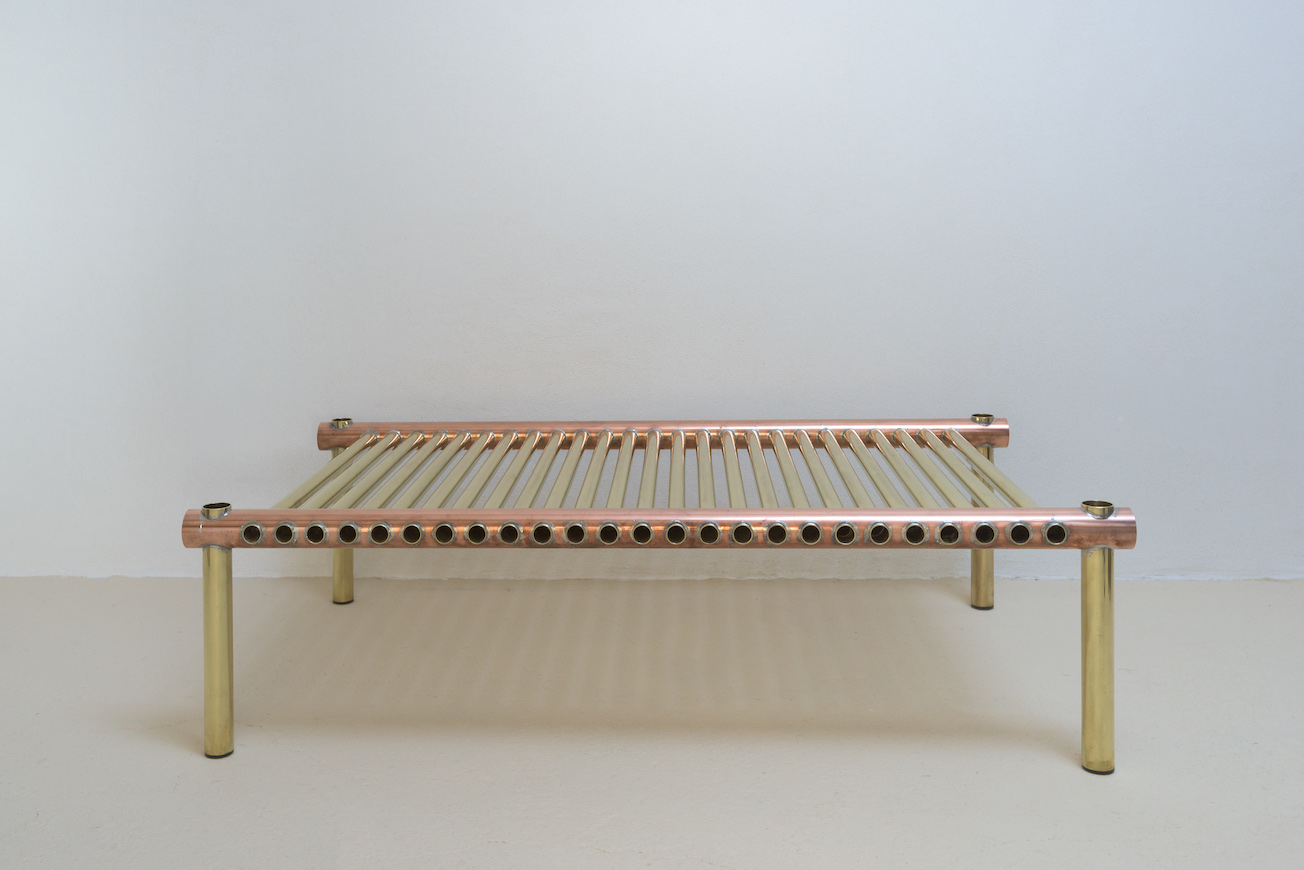 Metalware Coffee Table Brass/Copper