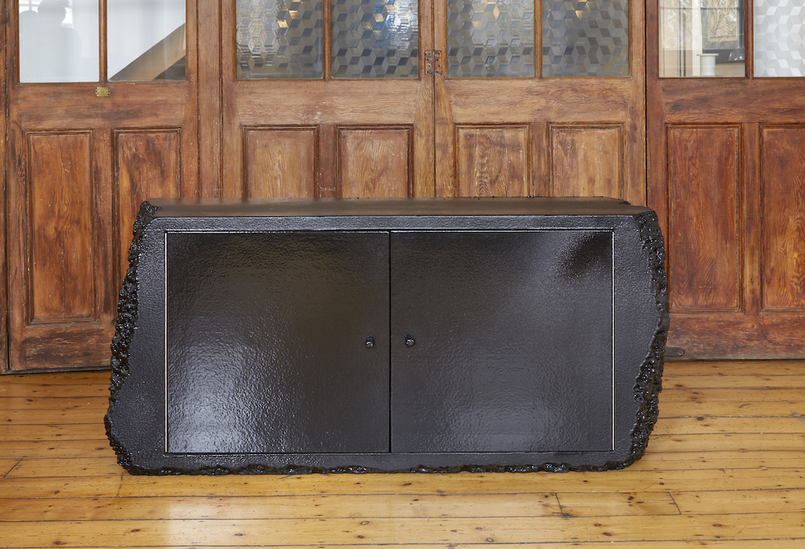 Black Poly Cabinet High