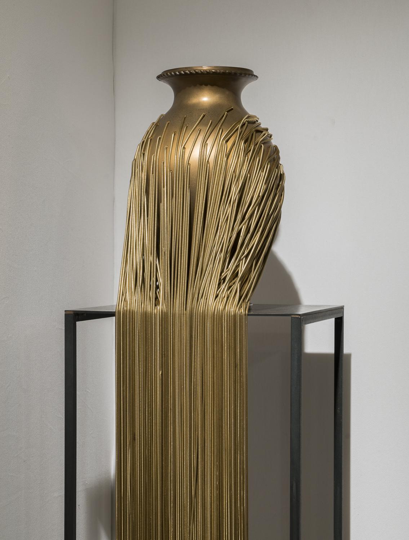 Jungle Vase (Gold)