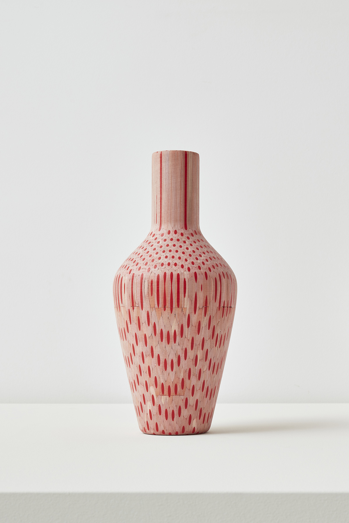 Amalgamated Vase (Red)