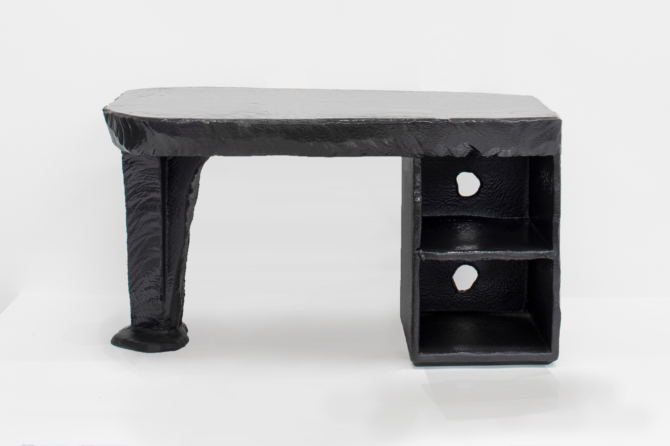 Black Poly Desk