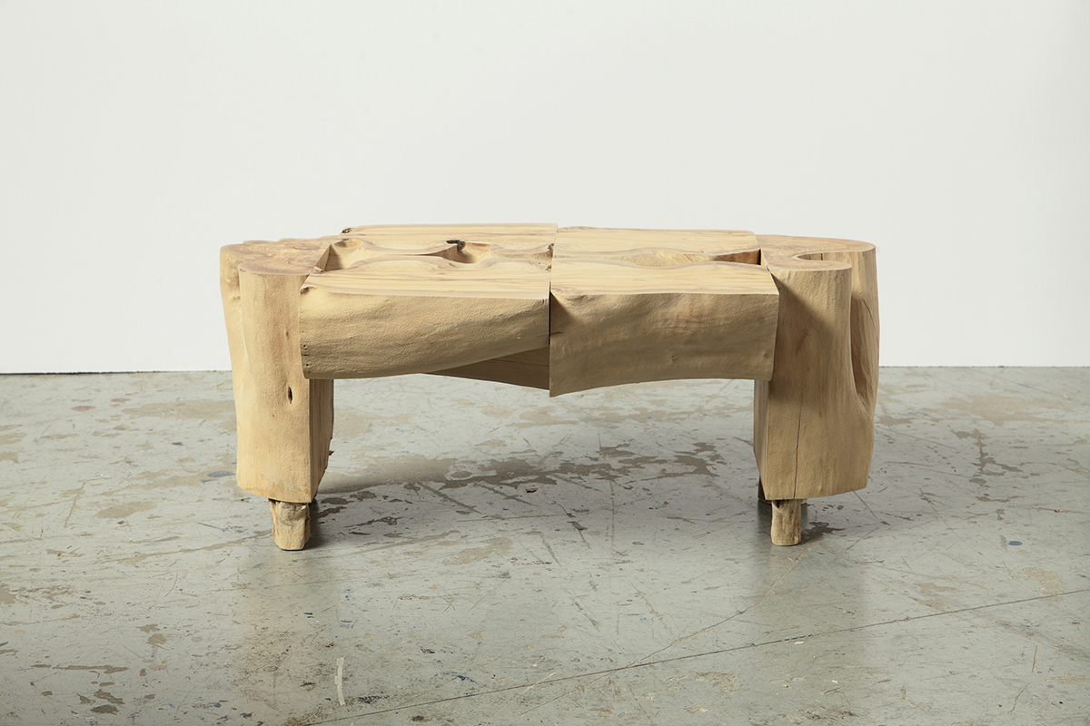 Sculptural Log Coffee Table