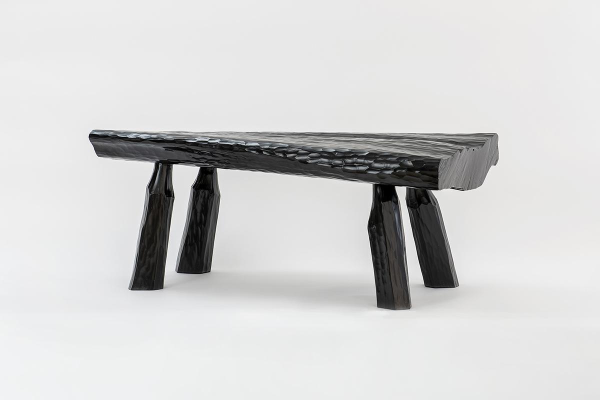 Urushi Bench (Black)