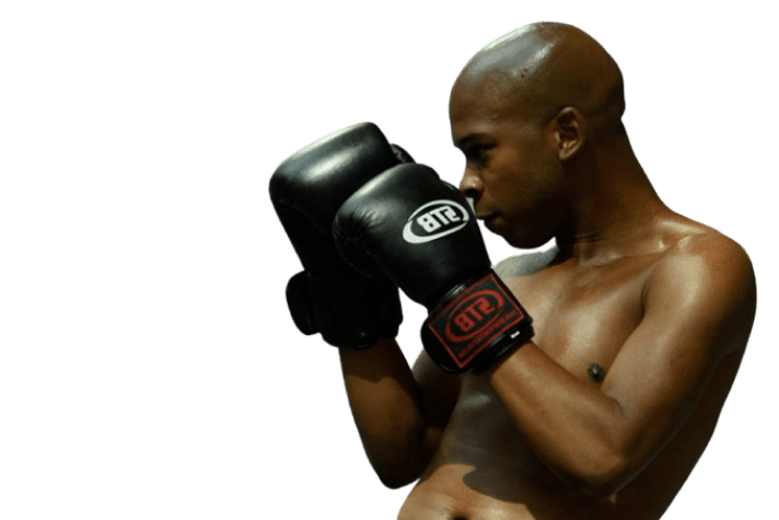 Clubsportive member boxing call to action cut out image