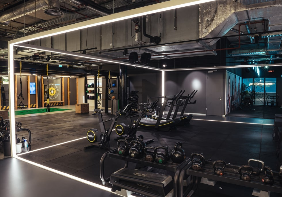 Functional training area at ClubSportive