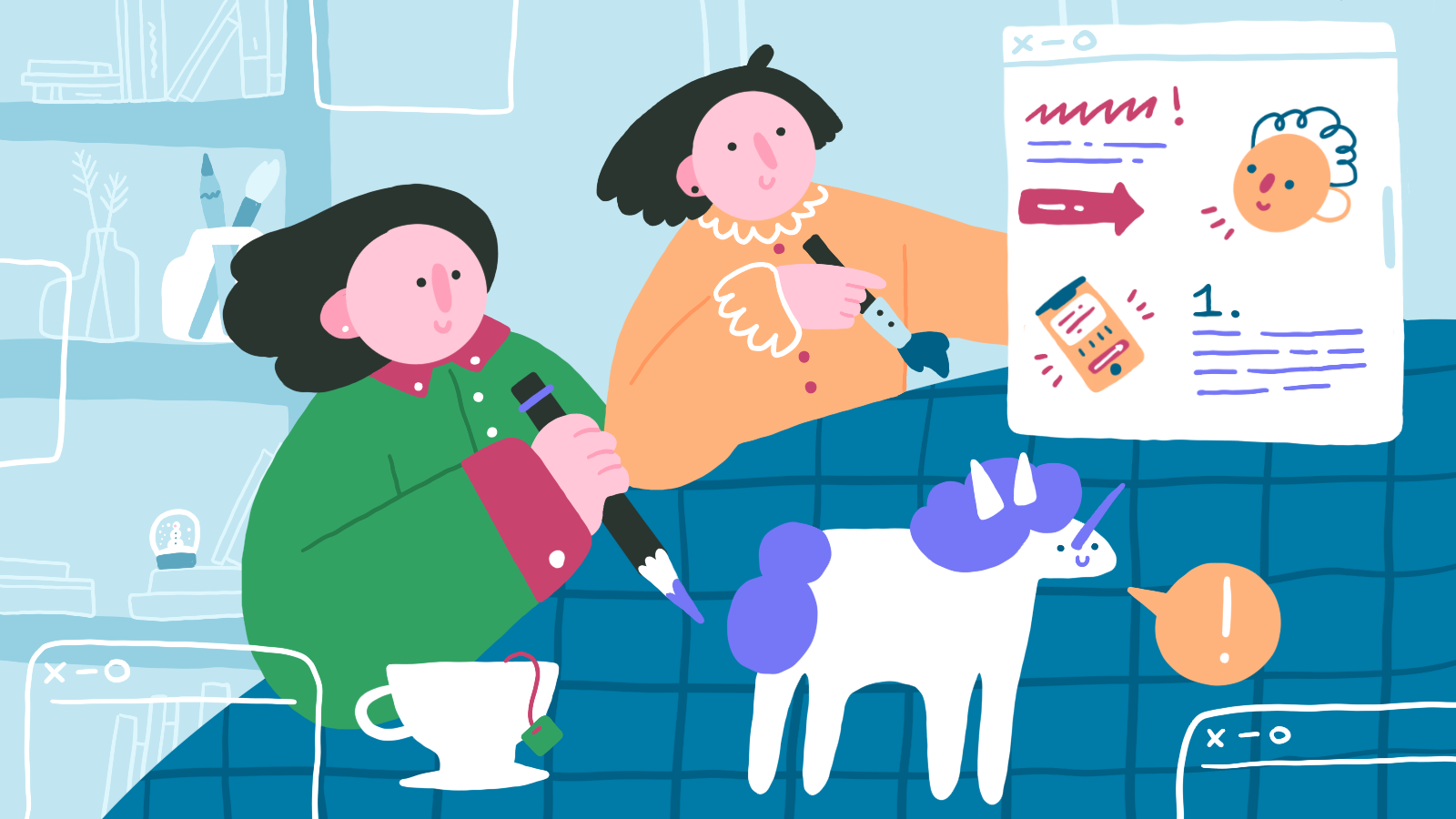 Paint a Pretty Picture: A Look At The Use of Illustrations in Web Design and Branding