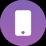 Mobile counter icon