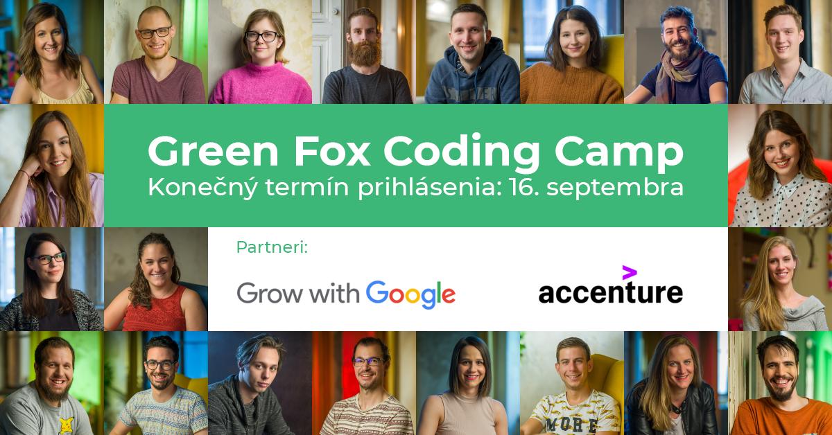 Bezplatný programátorský kurz Green Fox Coding Camp už čoskoro aj na Slovensku