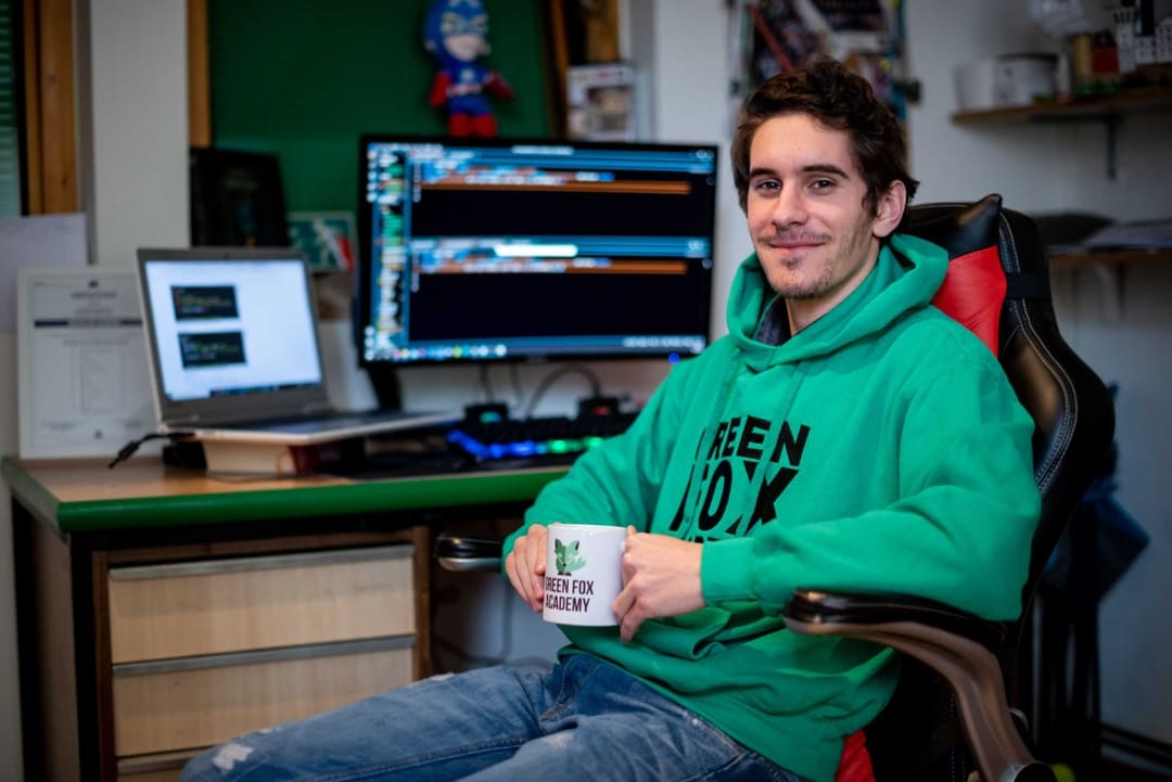 Po absolvovaní kurzu Martin okamžite získal zaujímavú prácu v IT