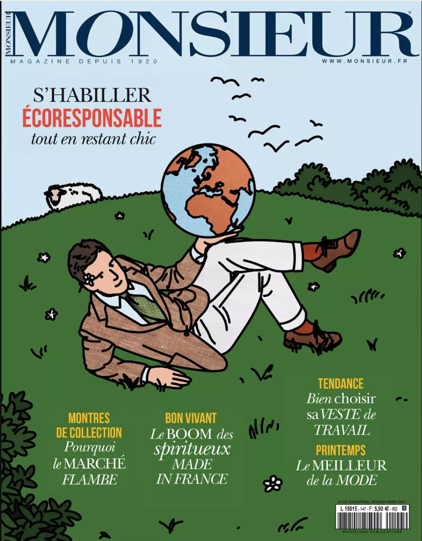 Article Monsieur Magazine & Le Modeste