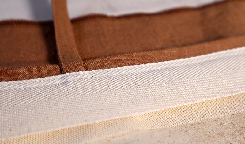 ceinture entoilage traditionnel bermuda en lin