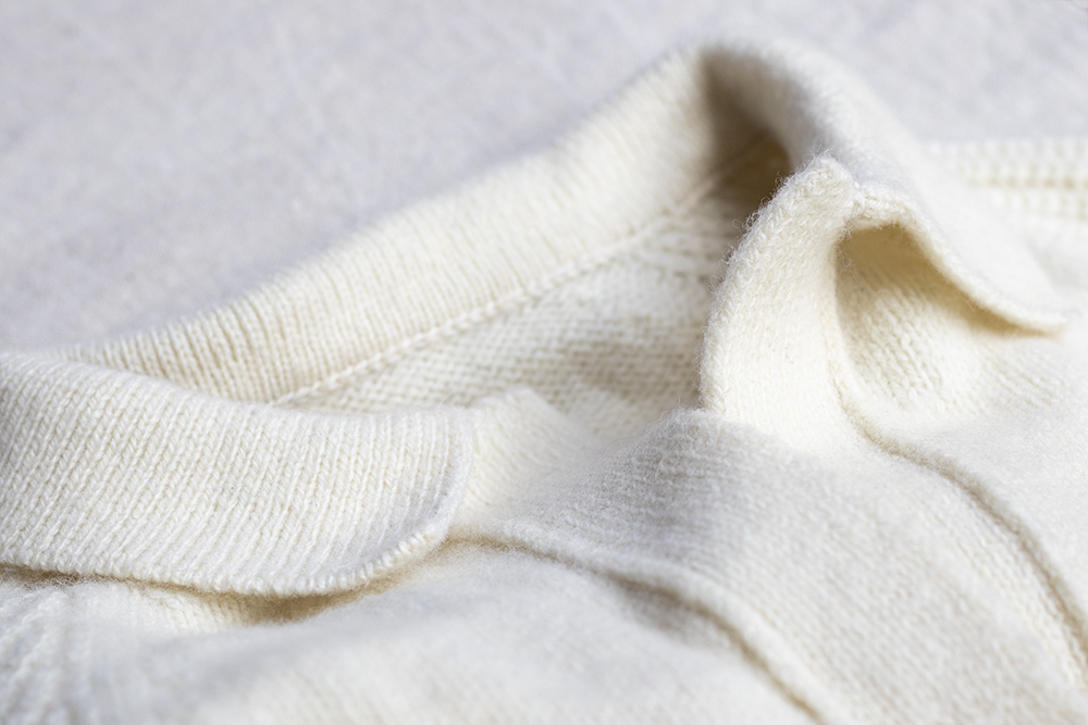 Pull homme en laine mérinos made in France écru