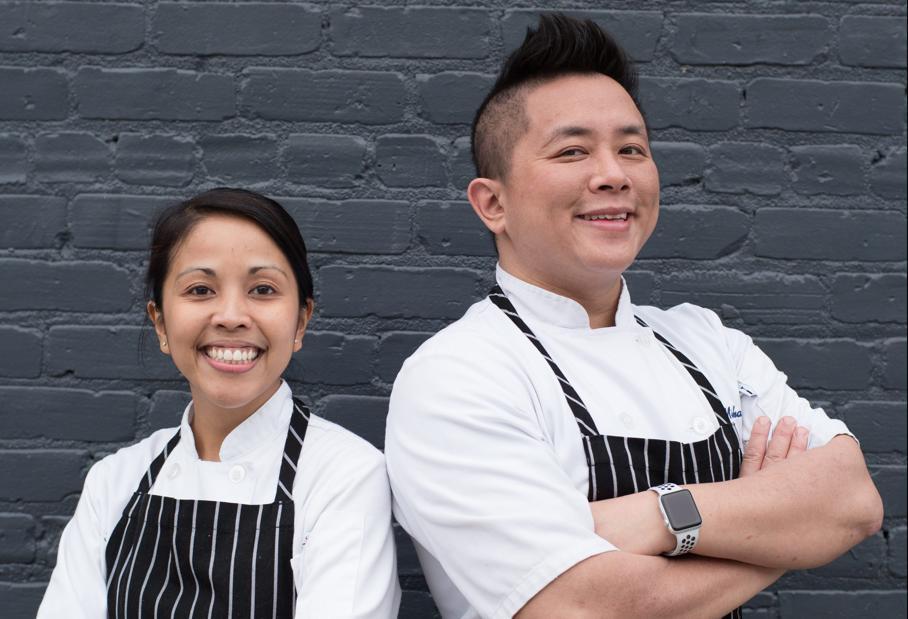 Braise Chefs Tanya Jimenez and Michael Le