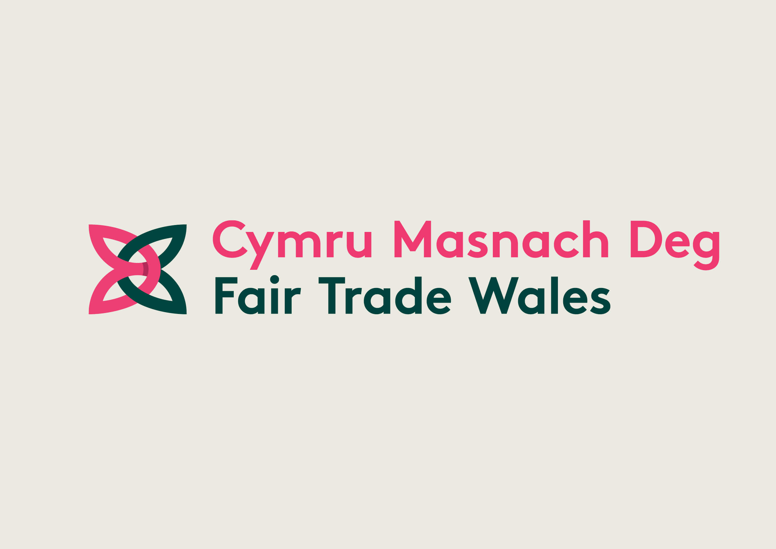 Fair Trade Wales is an organisation based in the United Kingdom that exists to grow the Fair Trade movement in Wales. It is funded by the Welsh Assembly Government. In June 2008 it led Wales to become the world's first Fair Trade Nation and as of 2010 is working towards the second phase of Fair Trade Nation targets. The organisation stages events during the annual Fairtrade Fortnight to raise awareness of Fairtrade in Wales. I worked with the Fair Trade Wales team to develop a modern and accessible identity which sought to evoke thei Welsh heritage while avoiding cliches.