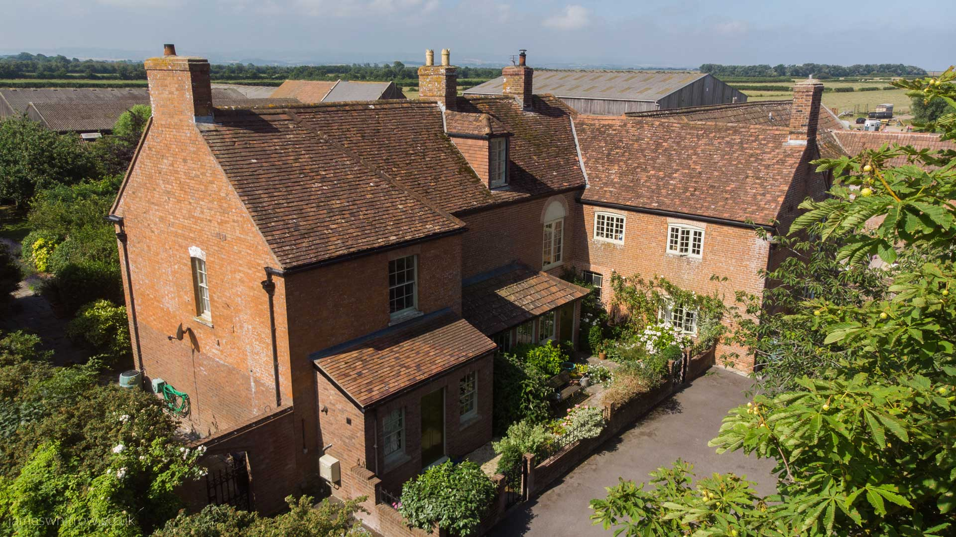 Aerial Drone Photography for CJ Hole's Property 'Alstone Court'