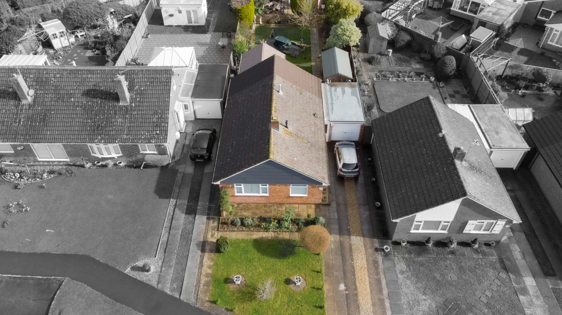 Aerial Drone Photography for CJ Hole's Property Marketing