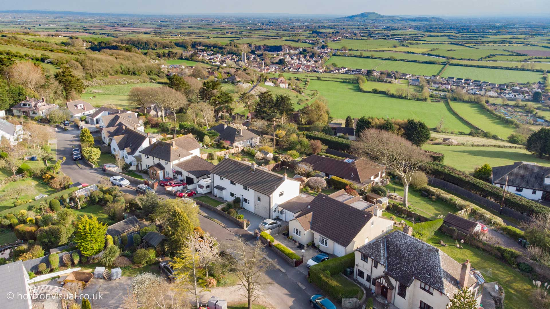 Aerial Drone Photography for Stephen & Co's Property Marketing
