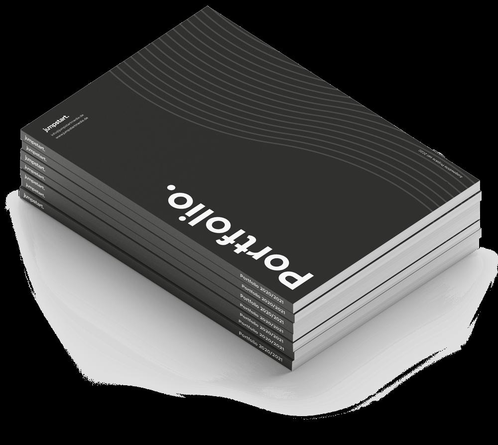 Mockup von jumpstart Portfolio