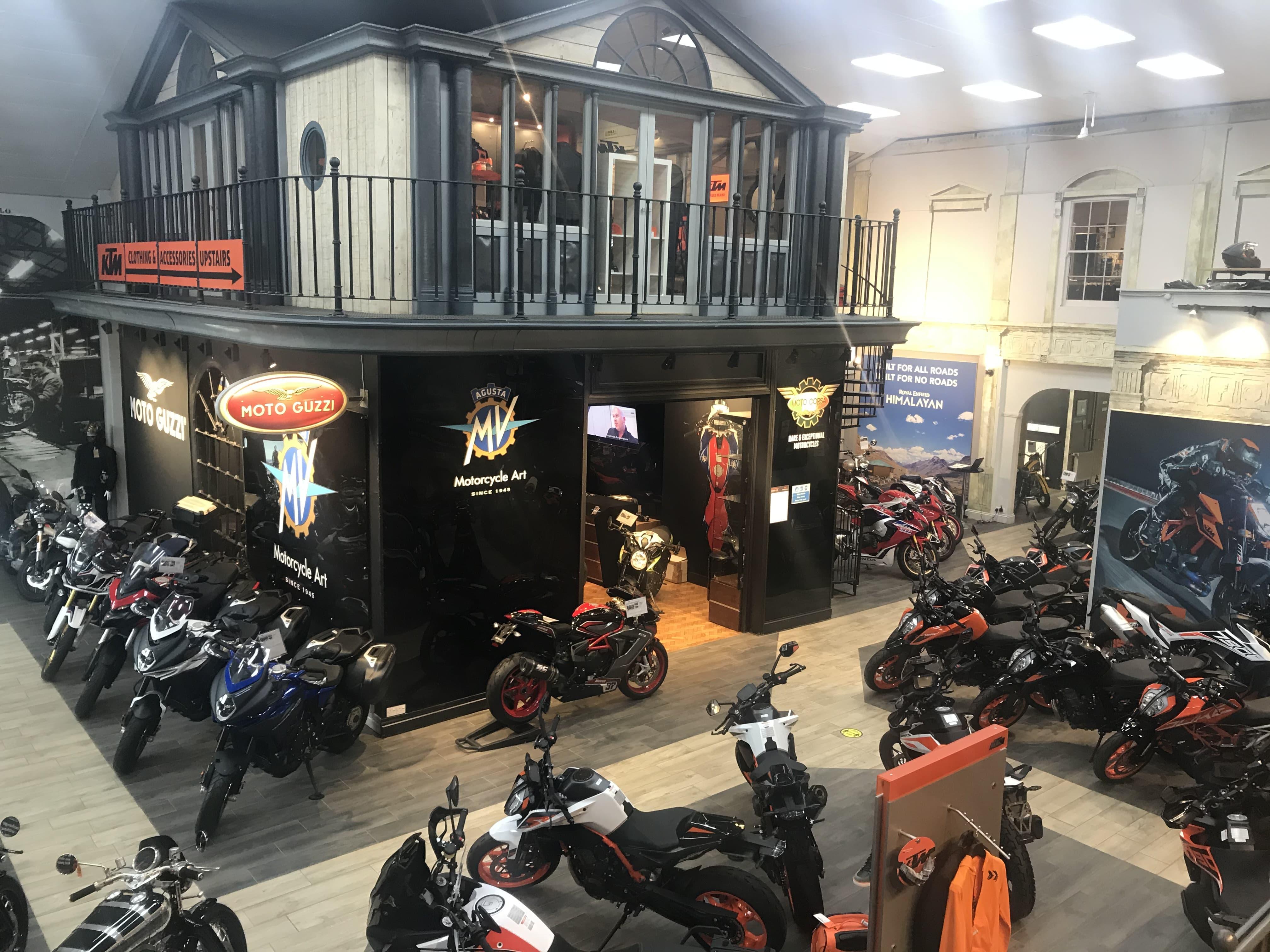 Moto Corsa Showroom