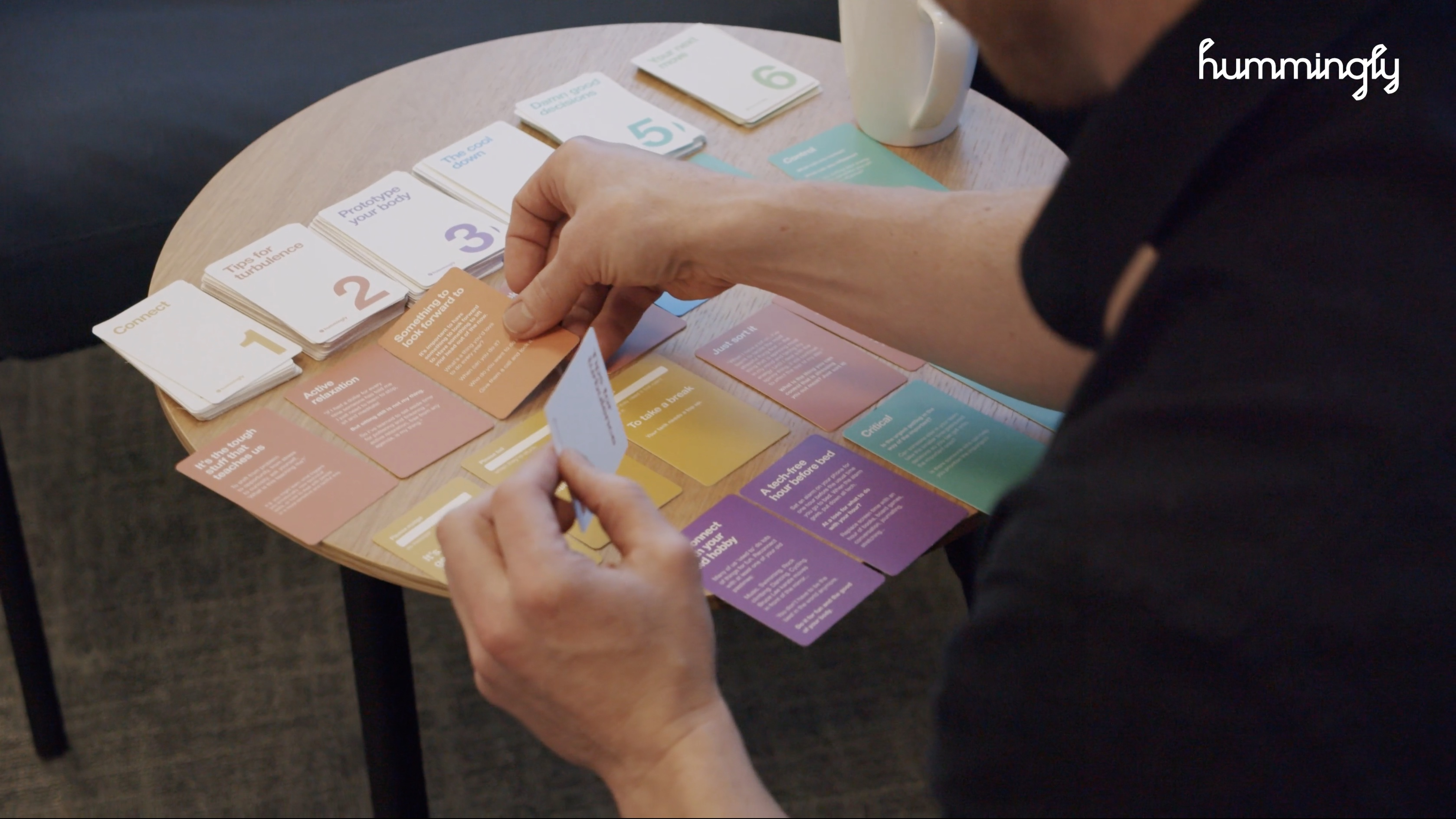 A quick and easy 'how to' guide for using the Doing Well cards.