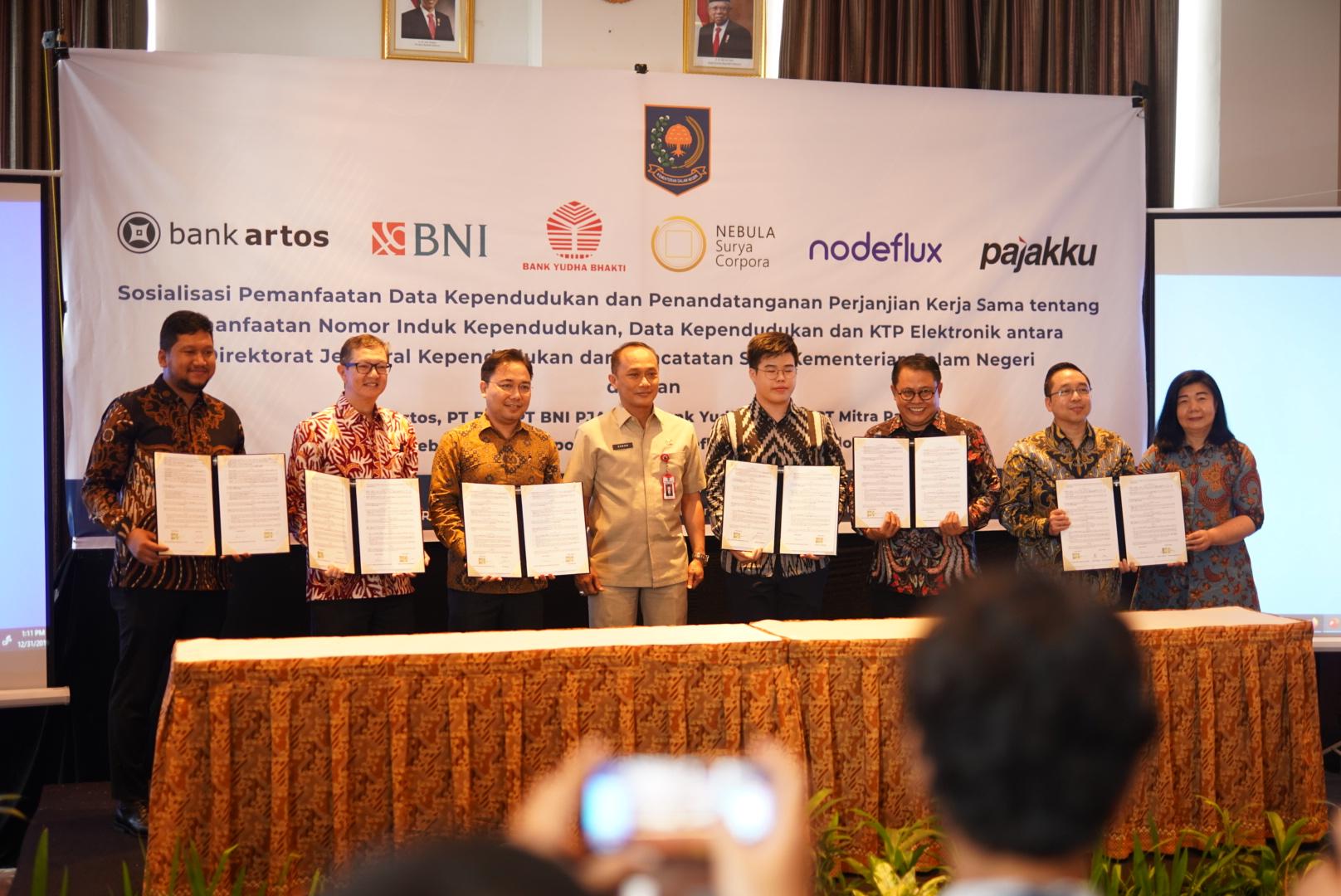 Dukcapil Gandeng Tujuh Mitra Terpercaya untuk Pemanfaatan Data Kependudukan Indonesia