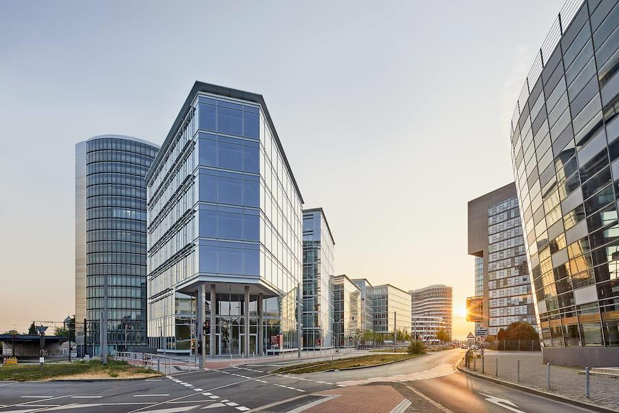 The Float Building, Architekturfotografie in Düsseldorf © Philip Kistner
