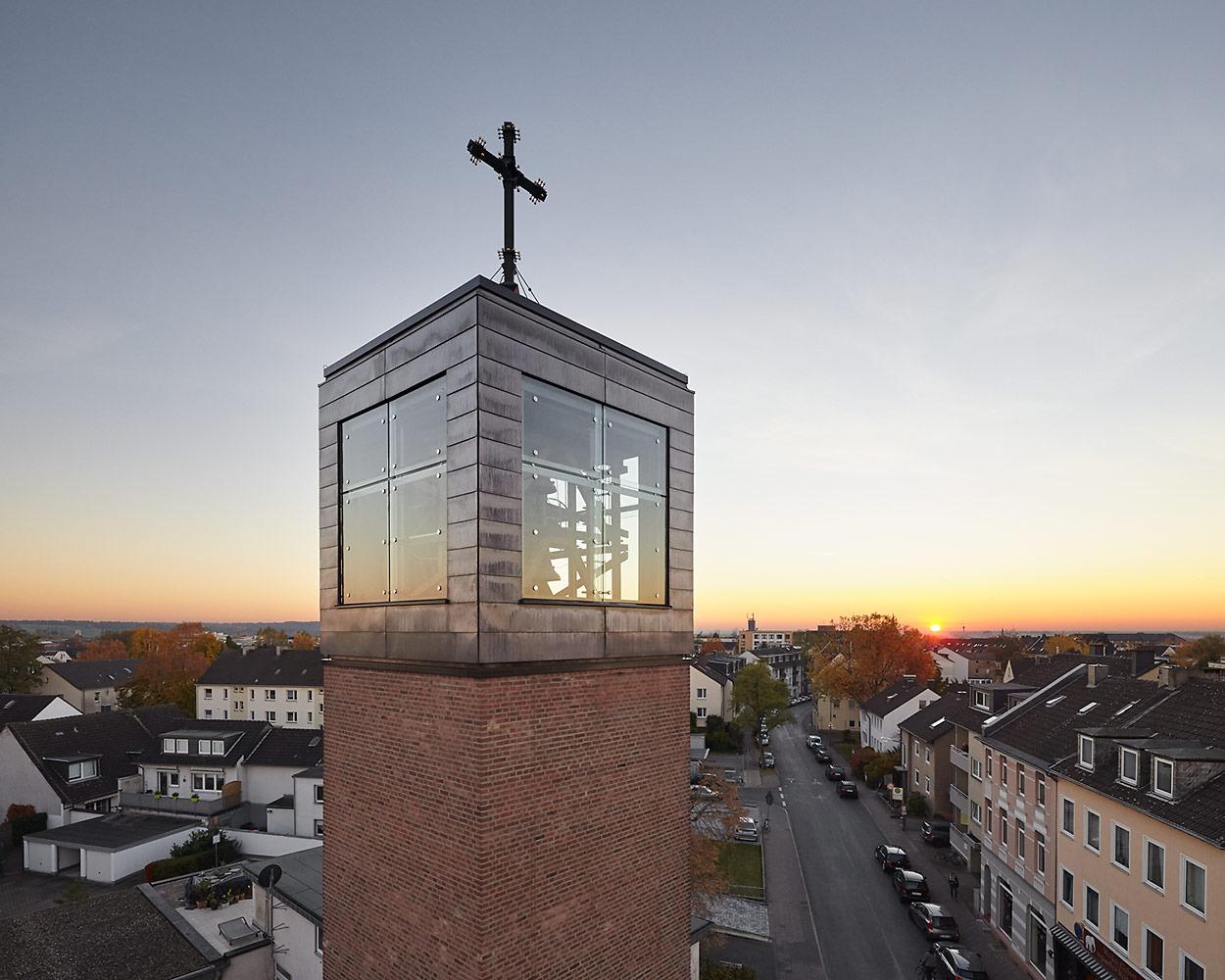 Architekturfotograf Düsseldorf, Herz Jesu Kirche, Lücker Beckmann Architekten, Ratingen