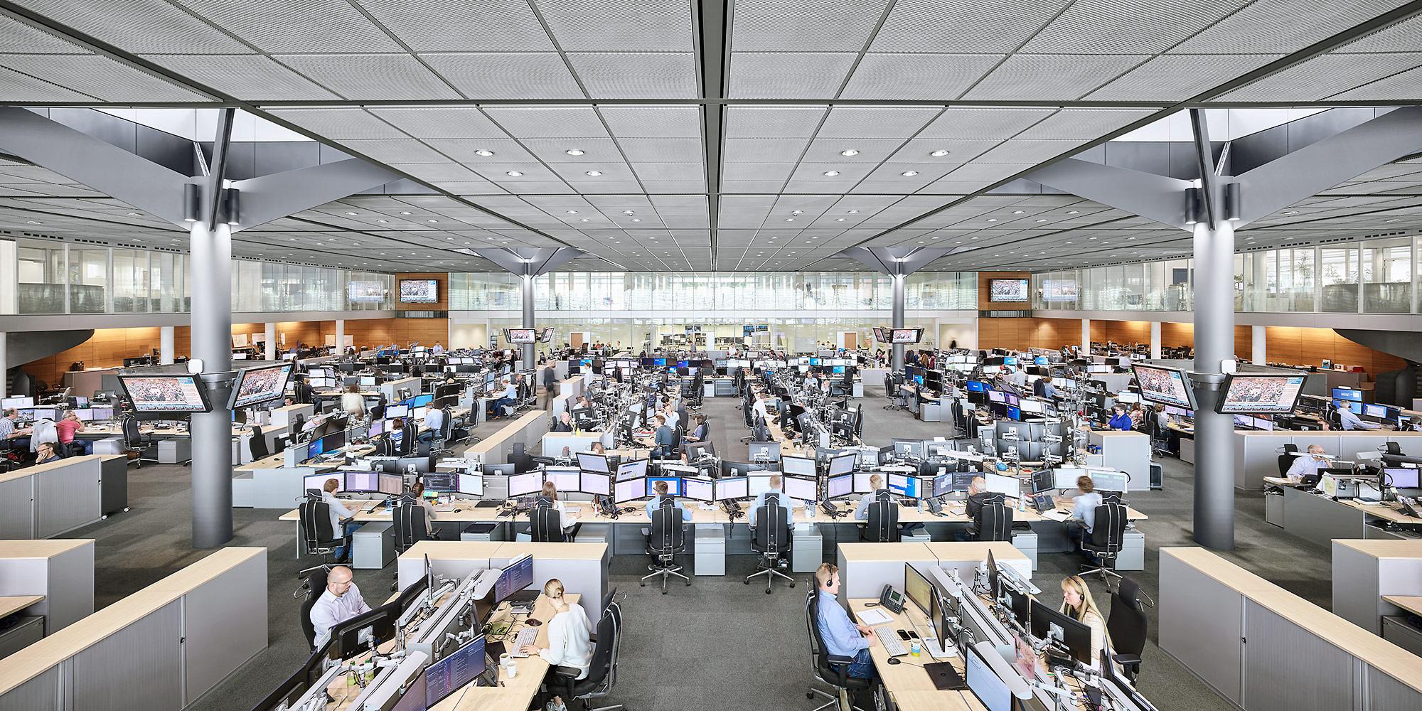 Architekturfotograf Essen, RWE AG, Trading Room, Essen