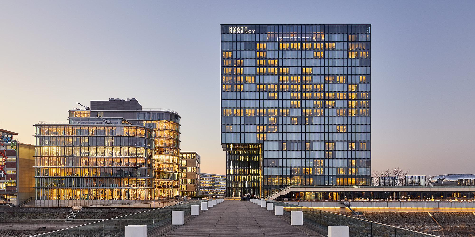 Hyatt Hotel, Düsseldorf @ Philip Kistner