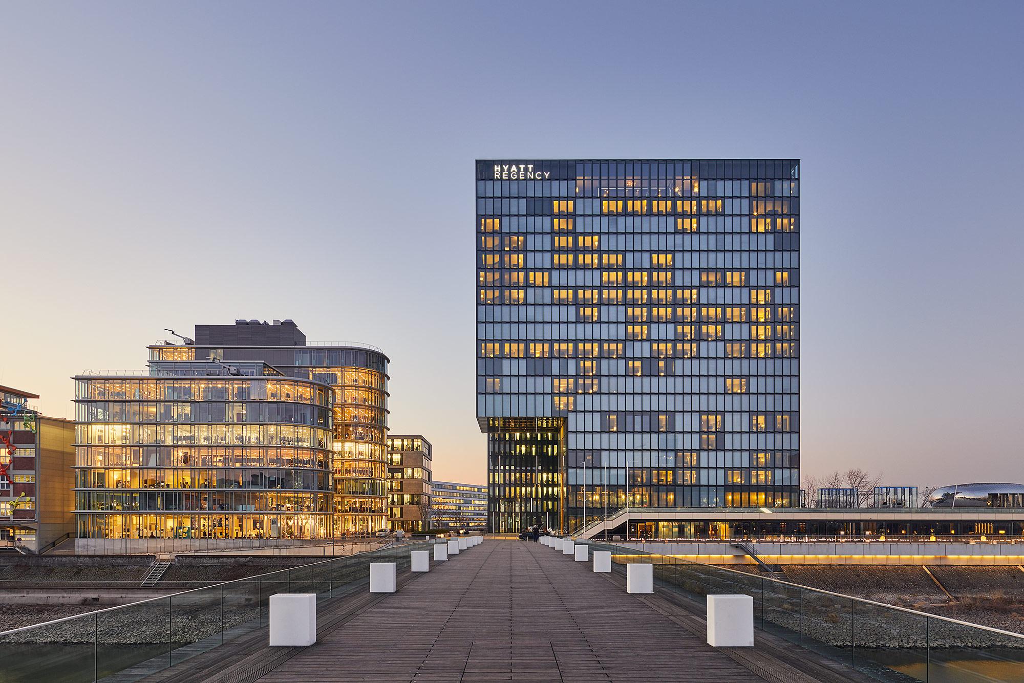 Hyatt Regency, Düsseldorf @ Philip Kistner