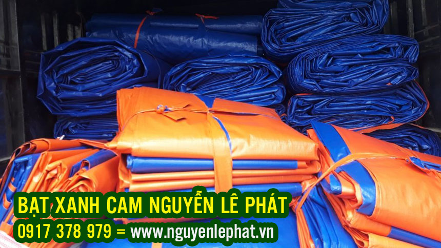 Đơn vị chuyên sản xuất, phân phối cung cấp bạt xanh cam khổ 2m, 4m, 6m, 8m. Cam kết hàng chính hãng giá rẻ, chất lượng đã qua kiểm định