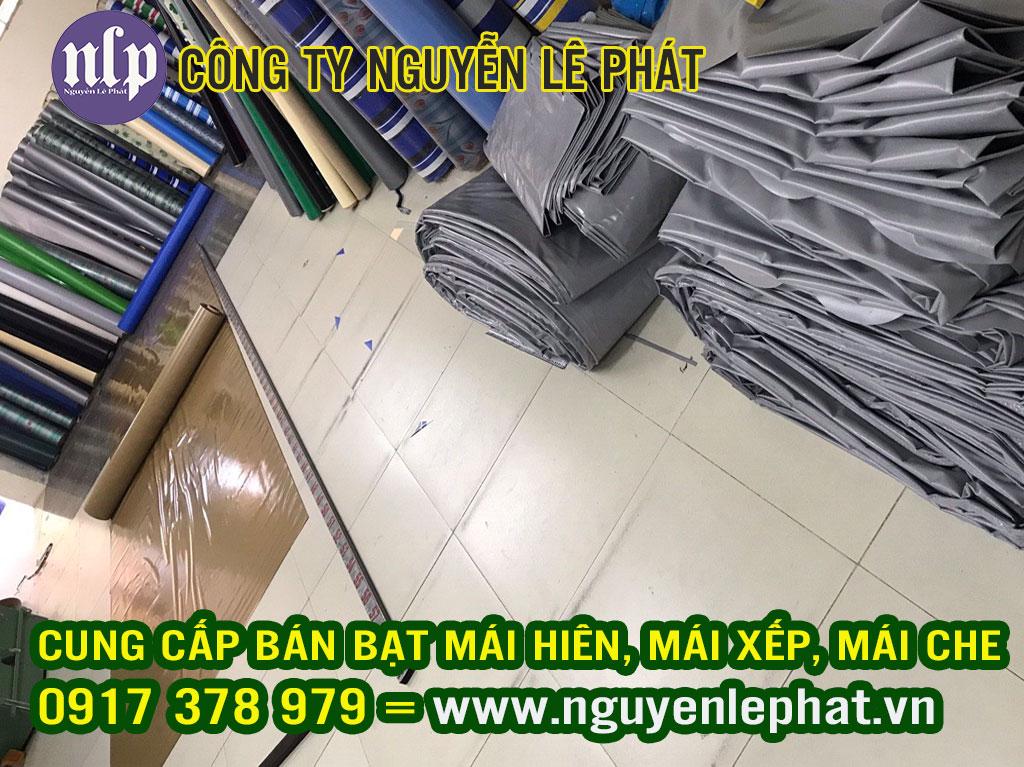 Cung cấp vải bạt may ép bạt mái che xếp, bạt kéo lượn sóng  giá rẻ tại Hà Nội