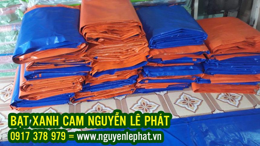 Bán Bạt Nhựa Xanh Cam 2 Da Hàn Quốc Chính Hãng Giá Rẻ, Bạt Xanh Cam Che Phủ Phơi Nông Sản