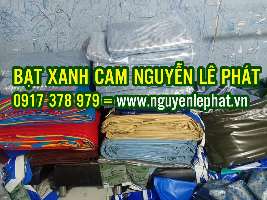 báo giá bạt nhựa xanh cam khổ 2m, 3m, 4m, 6m đến 10m