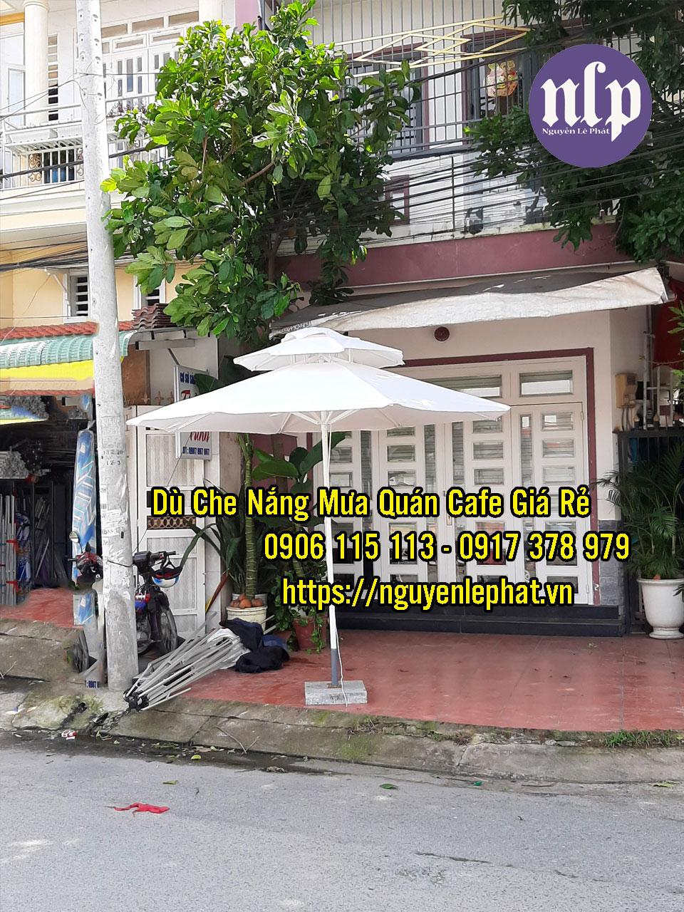 Điểm Bán Dù Che Nắng Quán Cafe Đà Lạt tại Bảo Lộc Lâm Đồng Giá Rê Mẫu Dù Đẹp