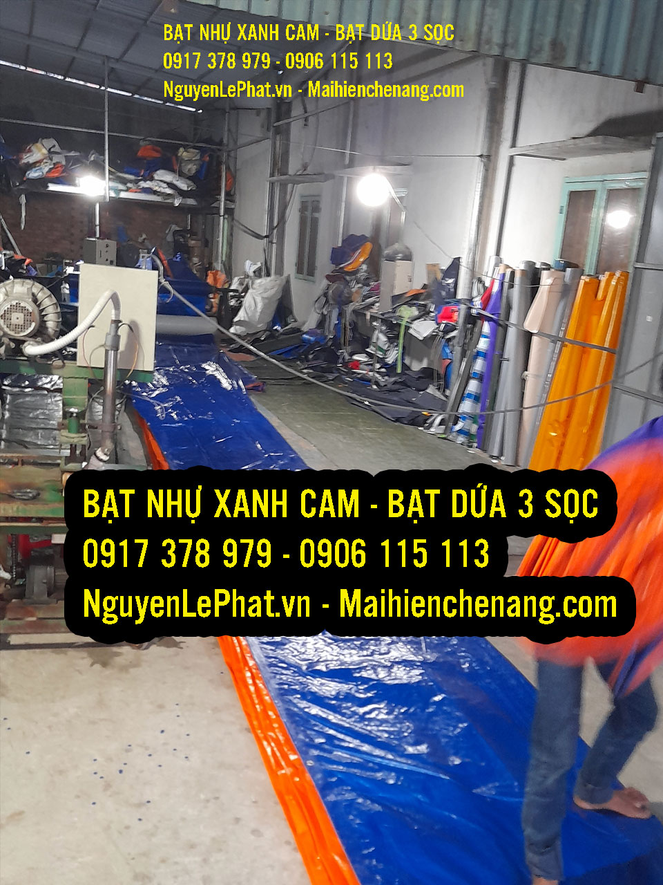 May bạt phủ theo yêu cầu giá rẻ tại khu vực Hà Nội