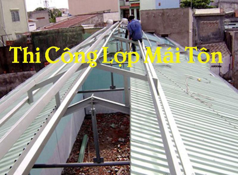 Công ty chúng tôi chuyên thi công, lắp đặt làm mái tôn và các sản phẩm cơ khí cho các công trình xây dựng bao gồm: Mái tôn cách nhiệt, mái tôn chống ồn, mái tôn chống nóng, mái tôn giả ngói, mái tôn nhà xưởng, mái hiên nhà xưởng, mái vồm nhà để xe…