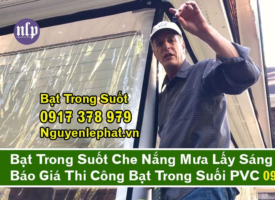 Bạt che trong suốt, màng che trong suốt Nguyễn Lê Phát PVC là một thành phần phức tạp của PVC (poly vinyl ... Bạt che chống nắng, bạt che mưa, bạt che trong suốt