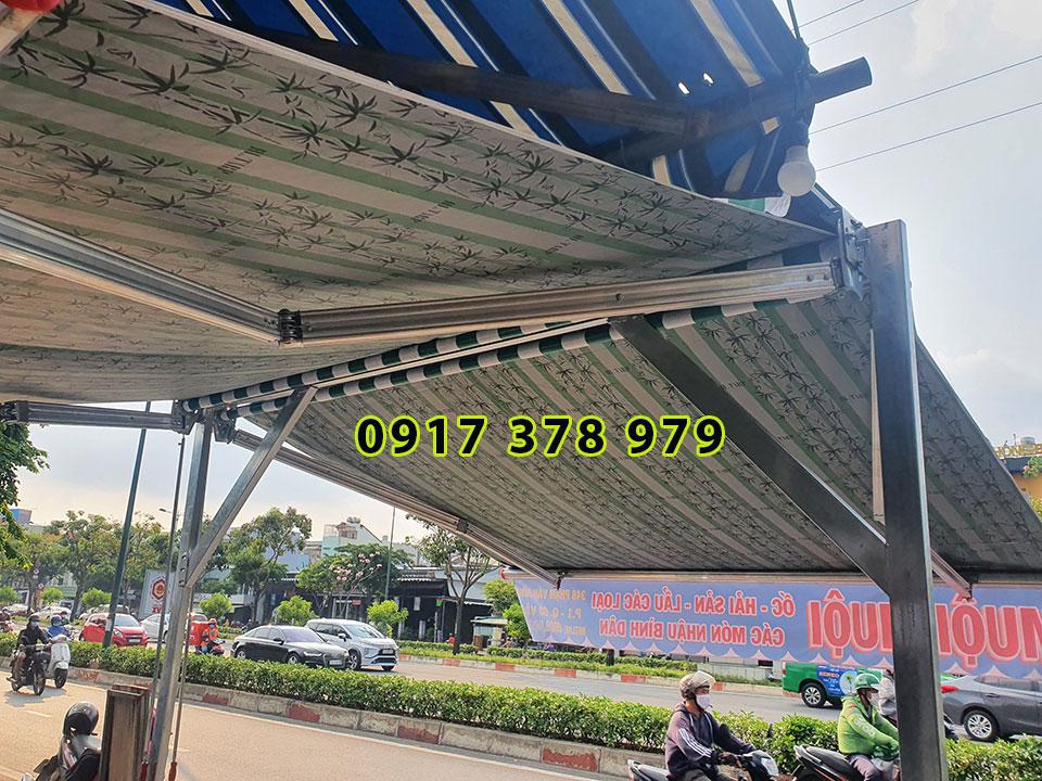 Mái che, mái xếp, mái kéo, mái tôn, mái bạt xếp tại Biên Hòa