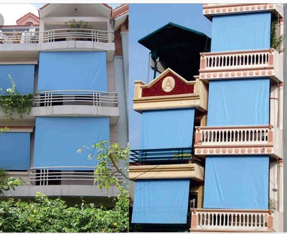 Bạt Che Nắng Mưa Chung Cư Trường Học