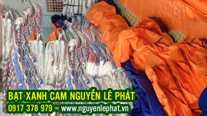 Sản Xuất Bạt Nhựa Xanh Cam Giá Rẻ Tại TpHCM