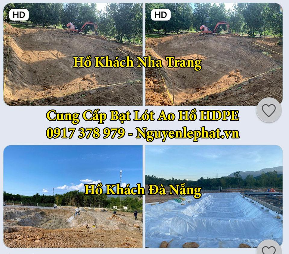 Bạt lót ao hồ chứa nước Đồng Nai GIá Rẻ