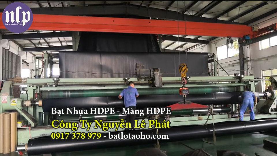 Sản xuất bạt nhựa lót ao hồ chứa nước Đồng Nai