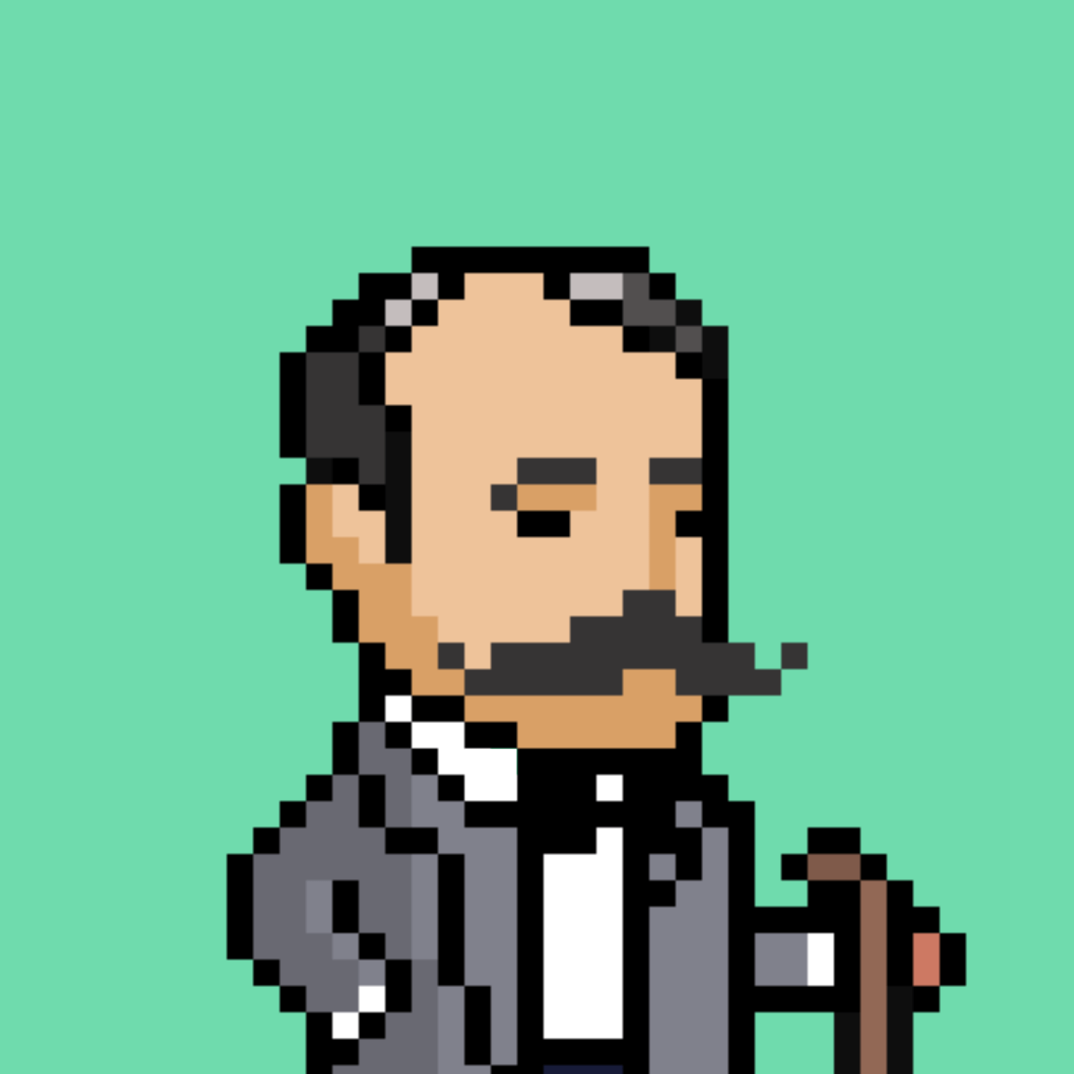 Edward Elgar in pixel format