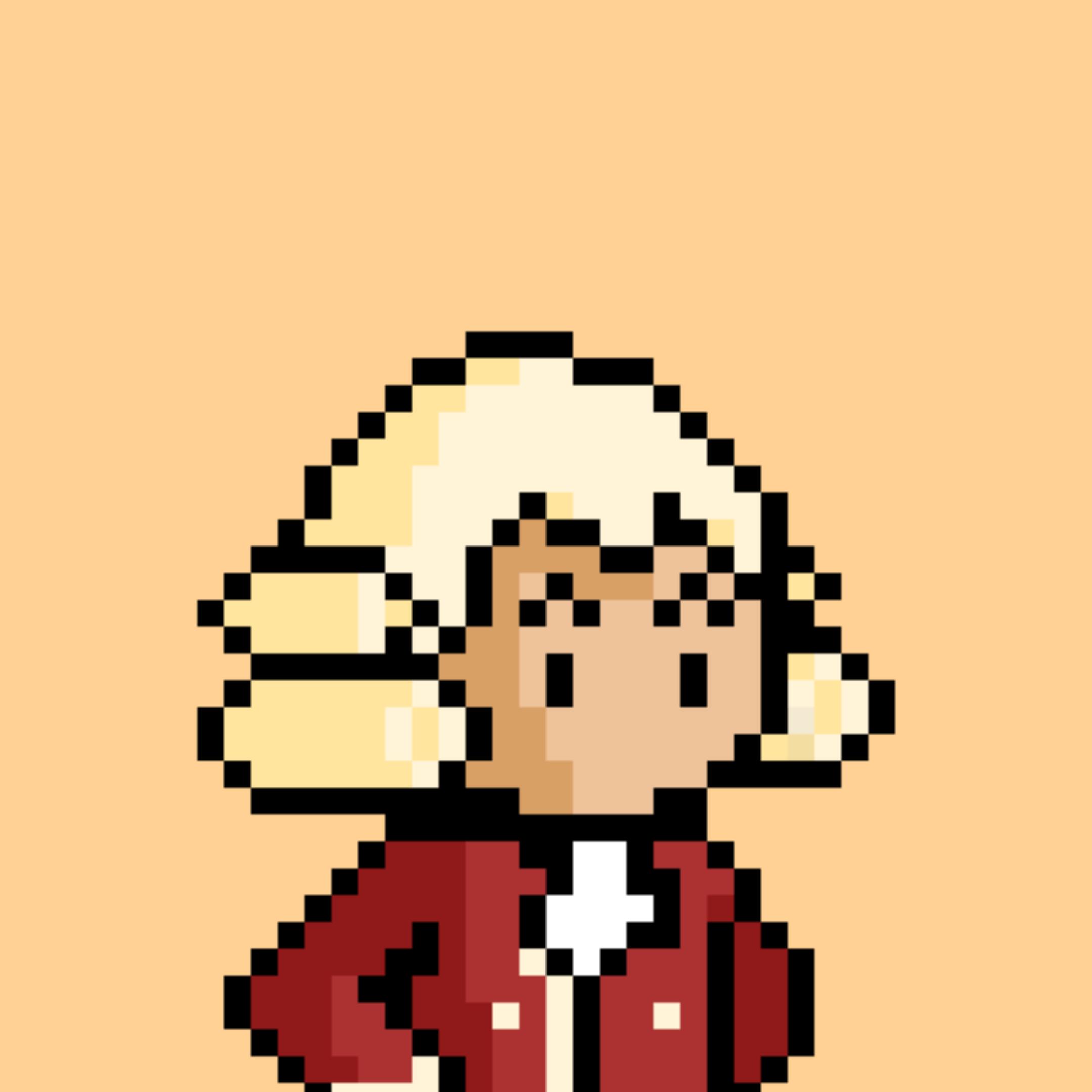 Mozart in pixel format