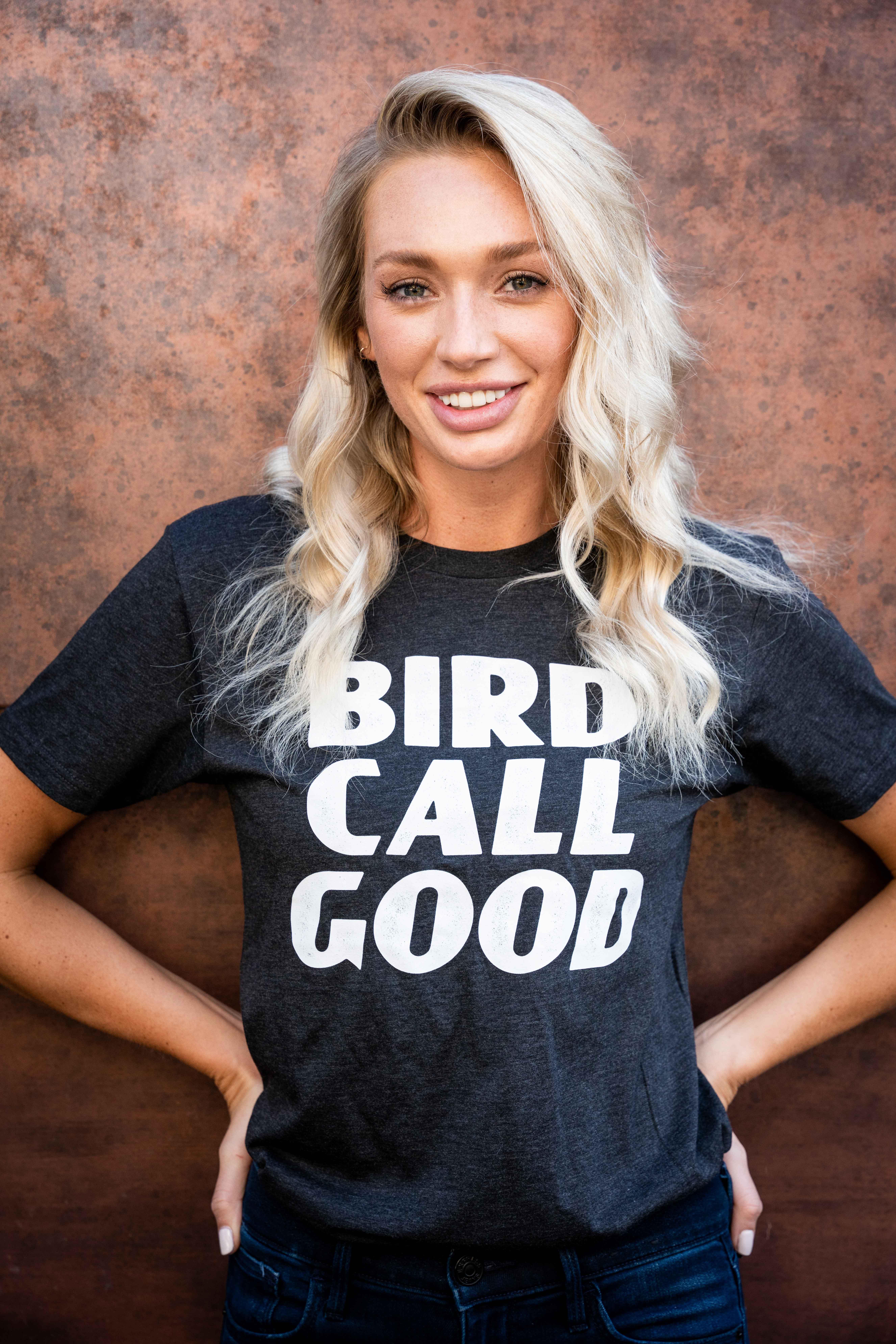 """Birdcall """"Good"""" T-Shirt"""