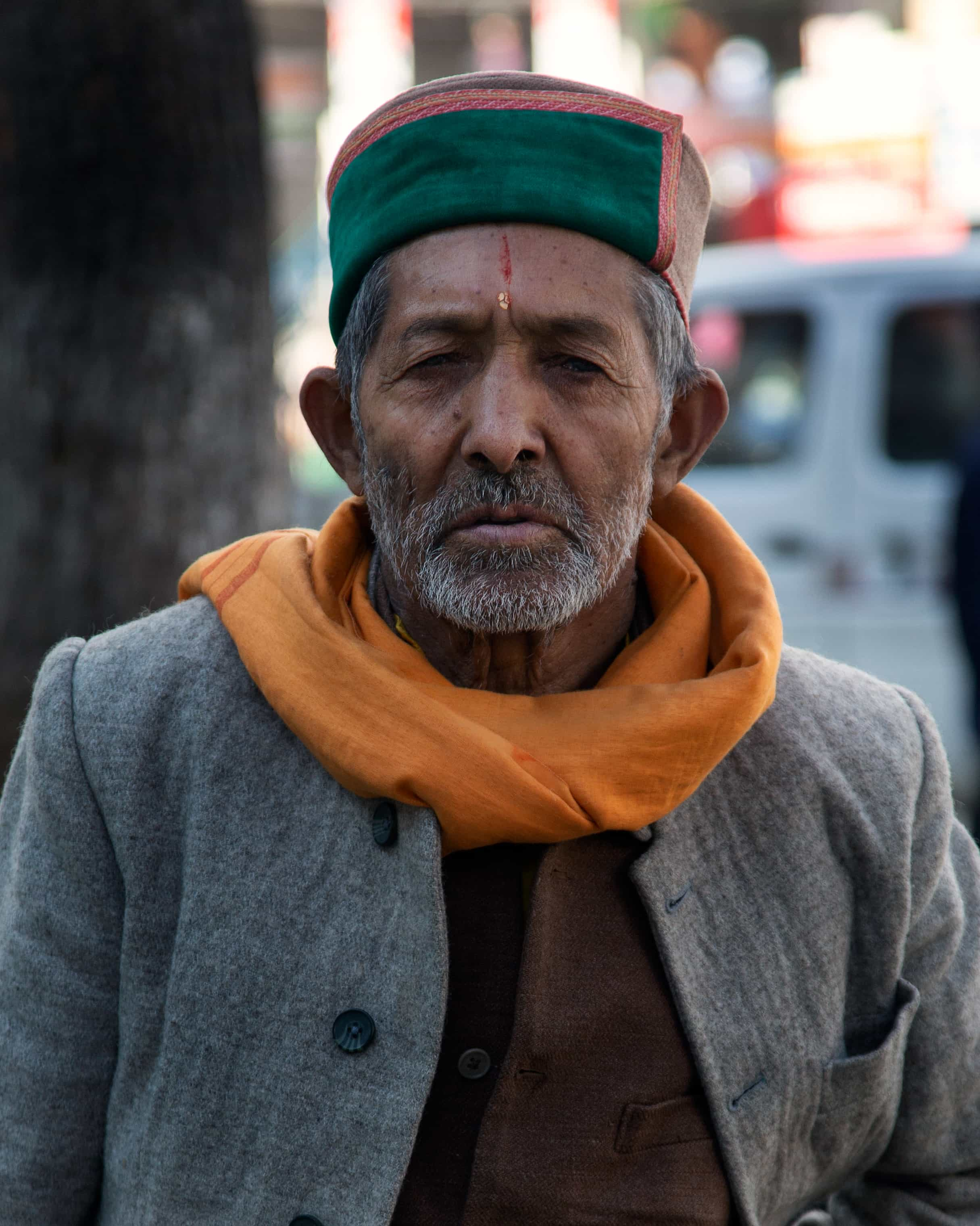 Green Hat Man